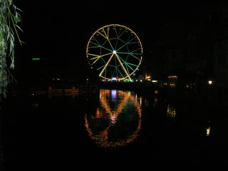 Riesenrad am Thunfest
