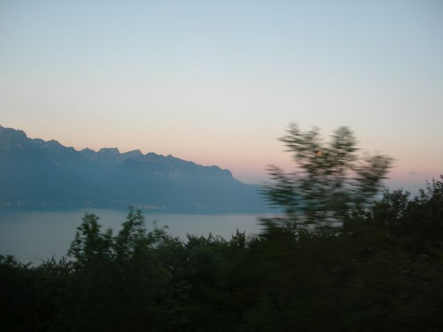 Genfersee am Morgen